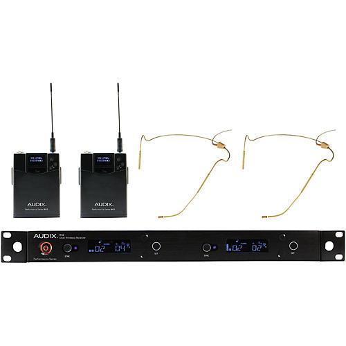 Audix AP42 HT5BG Dual Headset Wireless System - Beige