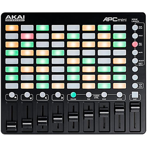 akai apc mini  Akai Professional APC MINI Ableton Live Controller | Guitar Center