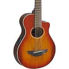 APX Thinline 3/4 size Acoustic-Electic Guitar Light Amber Burst
