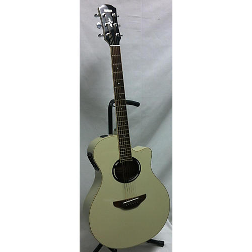 used yamaha apx500ii acoustic electric guitar white guitar center. Black Bedroom Furniture Sets. Home Design Ideas