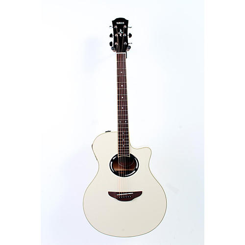 yamaha apx500ii thinline cutaway acoustic electric guitar vintage white 888365246659 guitar center. Black Bedroom Furniture Sets. Home Design Ideas
