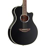 APX500III Thinline Cutaway Acoustic-Electric Guitar Black