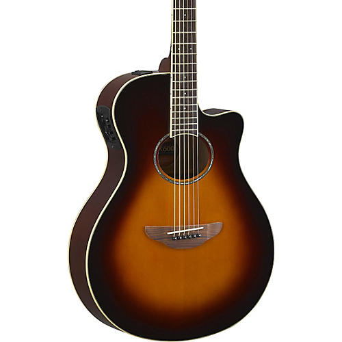 yamaha apx600 acoustic electric guitar old violin sunburst guitar center. Black Bedroom Furniture Sets. Home Design Ideas