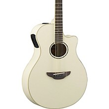 APX600 Acoustic-Electric Guitar Vintage White