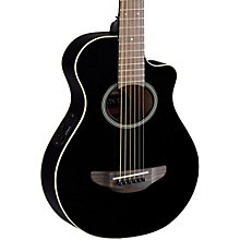 APXT2 3/4 Thinline Acoustic-Electric Cutaway Guitar Black