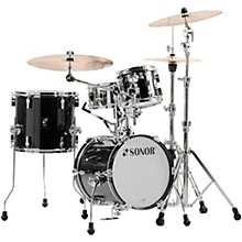AQ2 Martini Maple 4-Piece Shell Pack Transparent Black