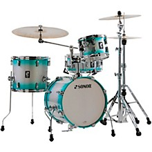AQ2 Safari Maple 4-Piece Shell Pack Aqua Silver Burst