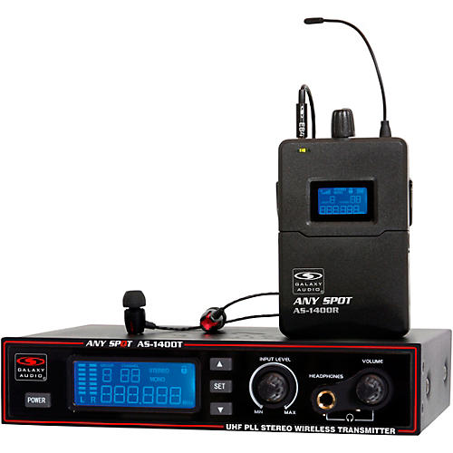 Galaxy Audio AS-1400 Wireless Personal Monitor System