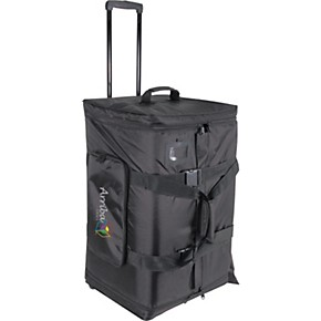 arriba cases as 175 speaker and stand combo bag with wheels guitar center. Black Bedroom Furniture Sets. Home Design Ideas
