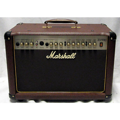 used marshall as50d 50w 2x8 acoustic guitar combo amp guitar center. Black Bedroom Furniture Sets. Home Design Ideas