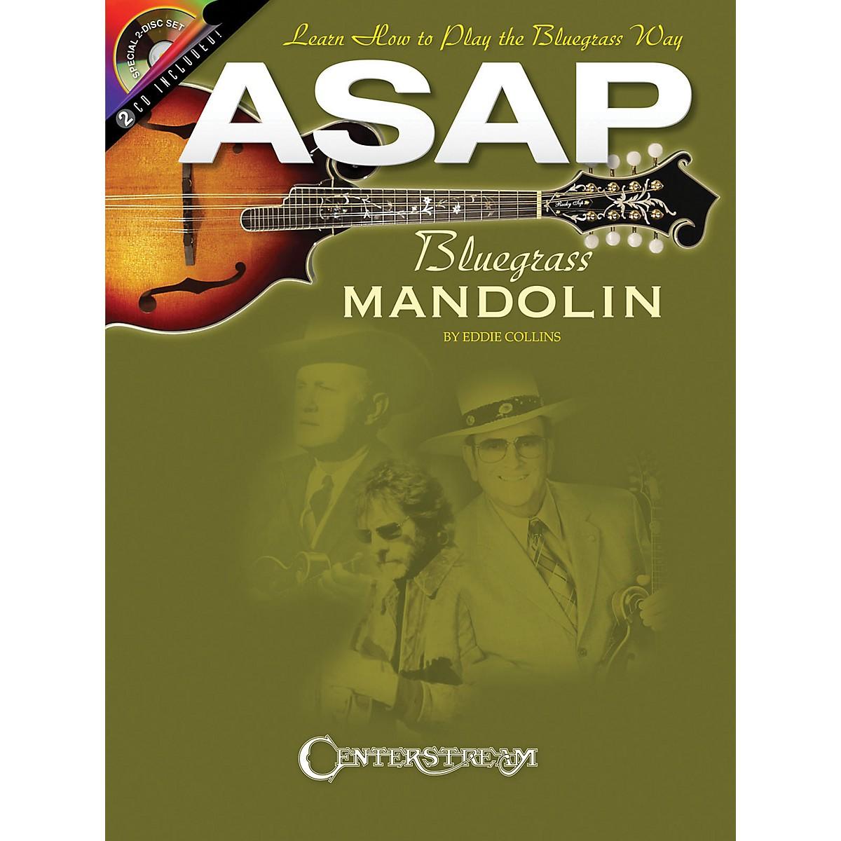Hal Leonard ASAP Bluegrass Mandolin (Book/2 CD Pack)