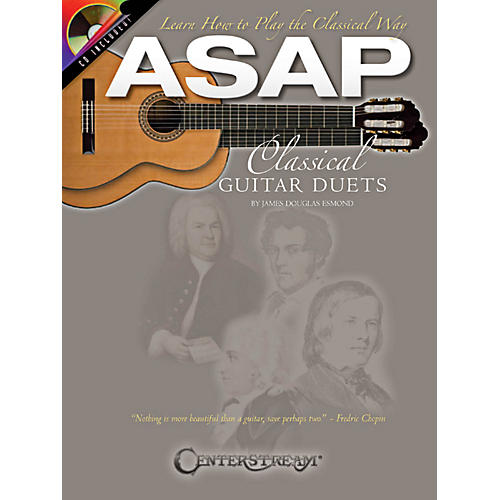 Hal Leonard ASAP Classical Guitar Duets Book/CD