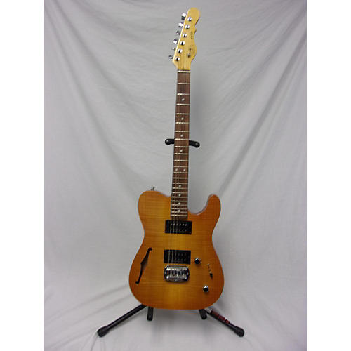 G&L ASAT Deluxe Semi Hollow Hollow Body Electric Guitar