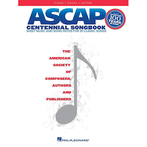 Hal Leonard ASCAP Centennial Songbook for Piano/Vocal/Guitar