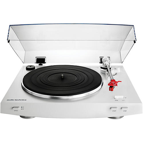 Audio-Technica AT-LP3WH Fully Automatic Belt-Drive Stereo Record Player Turntable