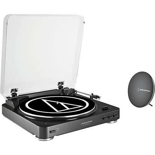 Audio-Technica AT-LP60SPBT-BK Bluetooth Turntable and Wireless Speaker System