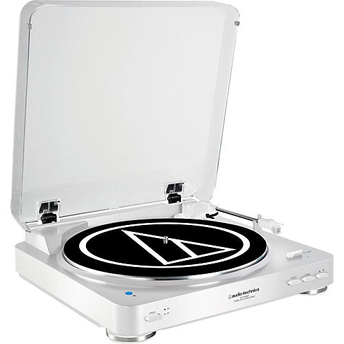 Audio-Technica AT-LP60WH-BT Fully Automatic Wireless Belt-Drive Stereo Record Player