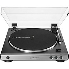 AT-LP60XUSB Fully Automatic Belt-Drive Stereo Turntable with USB Output Gunmetal