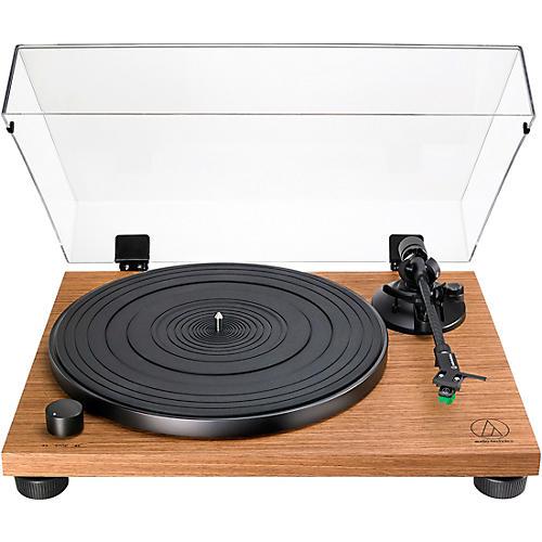 Audio-Technica AT-LPW40WN Belt-Drive Walnut Turntable