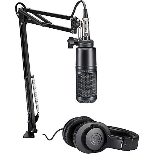 Audio-Technica AT2020PK Podcasting Studio Bundle