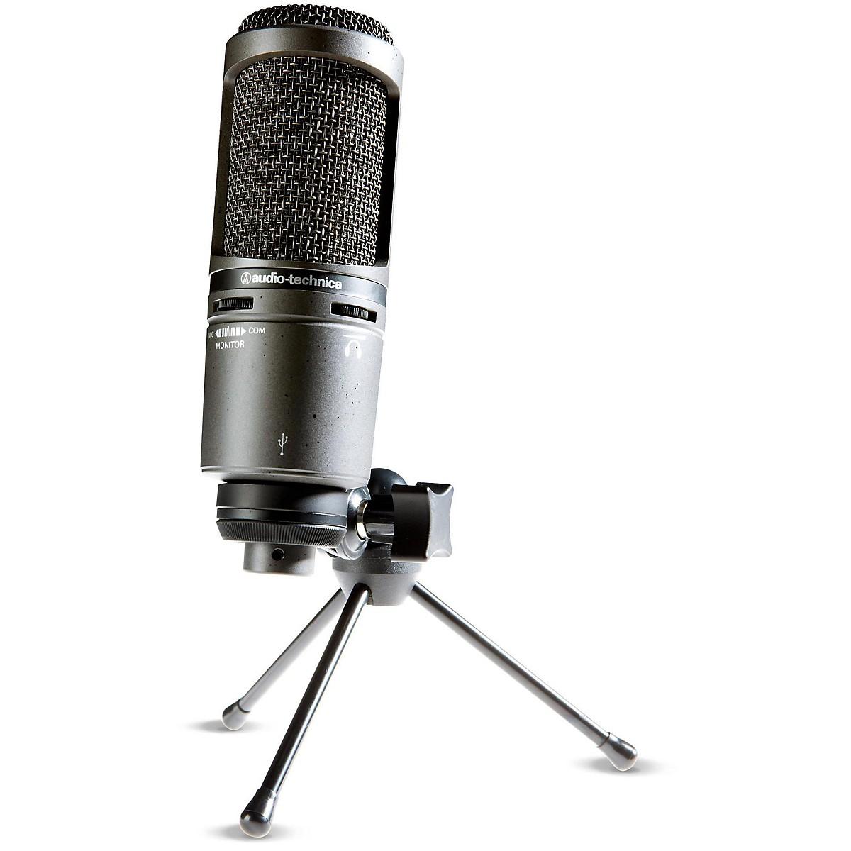 Audio-Technica AT2020USB+ Side-Address Cardioid Condenser USB Microphone