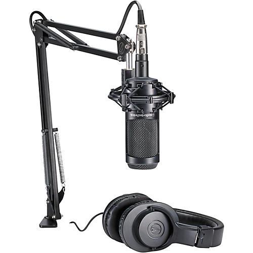 Audio-Technica AT2035PK Podcasting Studio Bundle