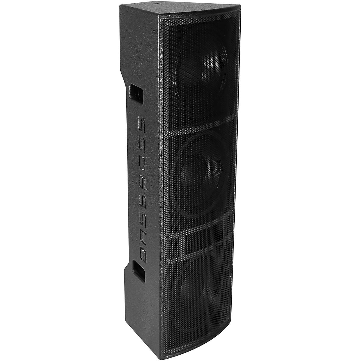 BASSBOSS AT312 3-Way Powered Top Speaker