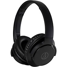 ATH-ANC500BT QuietPoint Wireless Active Noise-Cancelling Headphones Black