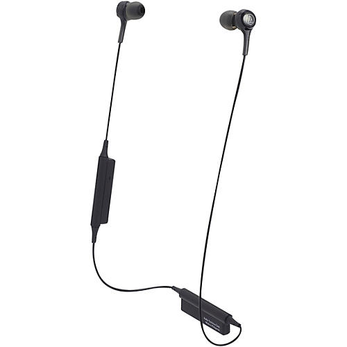 Audio-Technica ATH-CK200BTBK In-Ear Bluetooth Earphones in Black