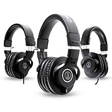 Audio-Technica ATH-M40x Headphones with 2 ATH-M30x Headphones