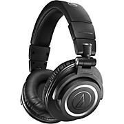 ATH-M50XBT2 Bluetooth Closed-Back Headphones Black