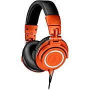 ATH-M50XMO Closed-Back Studio Monitoring Headphones Limited Edition Metallic Orange