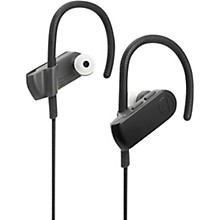 Audio-Technica ATH-SPORT50BTBK Sonicsport IPX5 In-Ear Bluetooth Headphone in Black