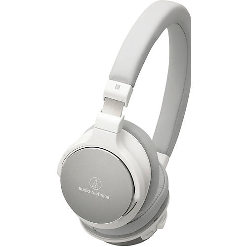 Audio-Technica ATH-SR5BTWH Bluetooth On Ear Headphones Hi-Res With Controls