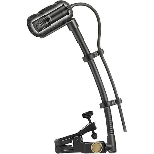 Audio-Technica ATM350U Cardioid Condenser Instrument Microphone with Universal Clip-on Mounting System (5