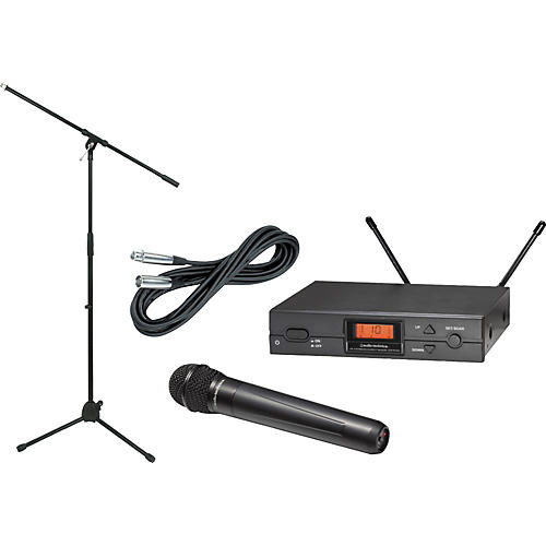 Audio-Technica ATW-2120a Handheld Wireless Package Ch D
