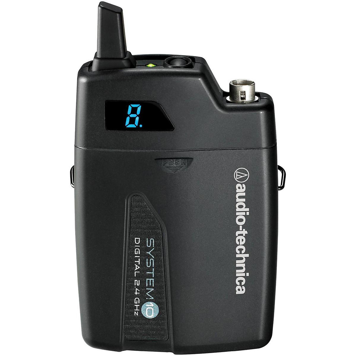 Audio-Technica ATW-T1001 System 10 Wireless Bodyback Transmitter