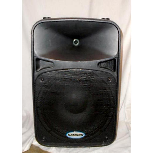 used samson auro d412 powered speaker guitar center. Black Bedroom Furniture Sets. Home Design Ideas