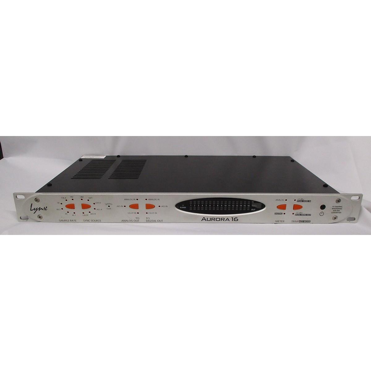 Lynx AURORA 16-vT HD CONVERTER W/ LTHD INSTALLED Audio Converter