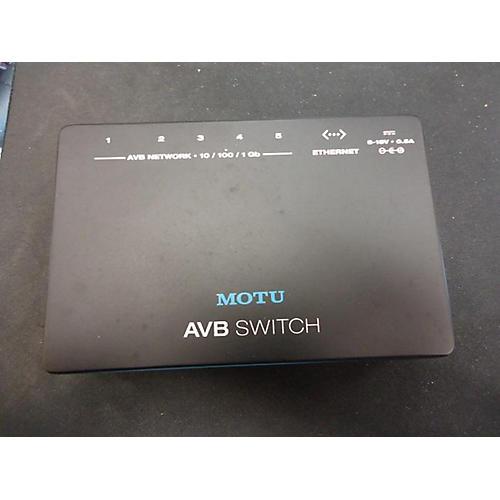 MOTU AVB SWITCH Signal Processor