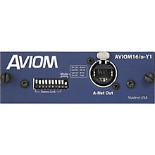 Aviom AVIOM16/o-Y1 Card for Yamaha Digital Mixers