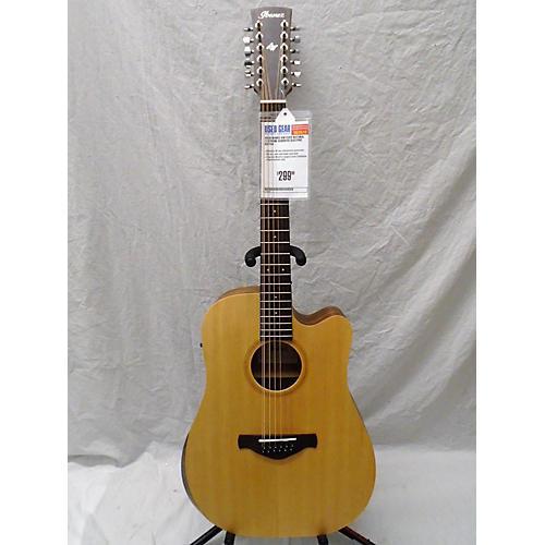 used ibanez aw152ce 12 string acoustic electric guitar natural guitar center. Black Bedroom Furniture Sets. Home Design Ideas