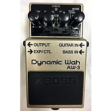 Boss AW3 Dynamic Wah Effect Pedal