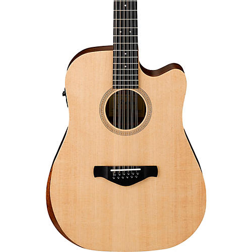 Ibanez AW521CE Artwood Unbound 12-String Dreadnought Acoustic-Electric Guitar