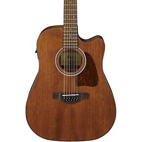 ibanez aw5412ce opn 12 string acoustic electric guitar satin natural guitar center. Black Bedroom Furniture Sets. Home Design Ideas