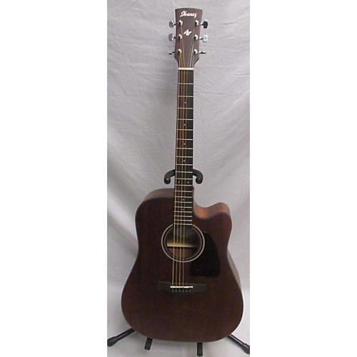 used ibanez aw54ce acoustic electric guitar mahogany guitar center. Black Bedroom Furniture Sets. Home Design Ideas