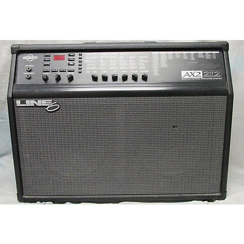 used line 6 ax2 212 floor board guitar combo amp guitar center. Black Bedroom Furniture Sets. Home Design Ideas