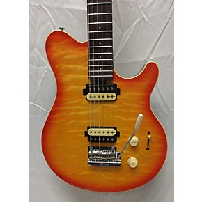 used sterling by music man ax30 solid body electric guitar cherry sunburst guitar center. Black Bedroom Furniture Sets. Home Design Ideas