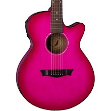 AXS Performer Acoustic-Electric Guitar Pink Burst