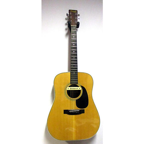 Yamaki AY33 Dreadnaught With LR Baggs M1 Acoustic Electric Guitar